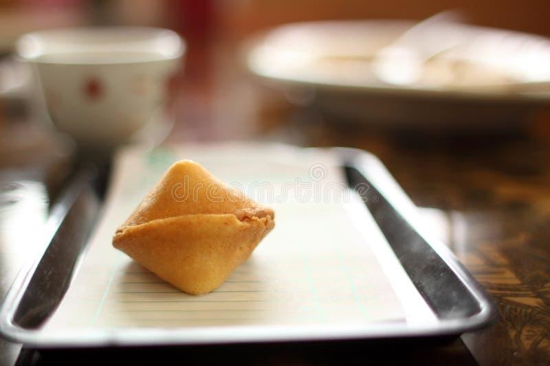 Biscotto di fortuna cinese fotografia stock