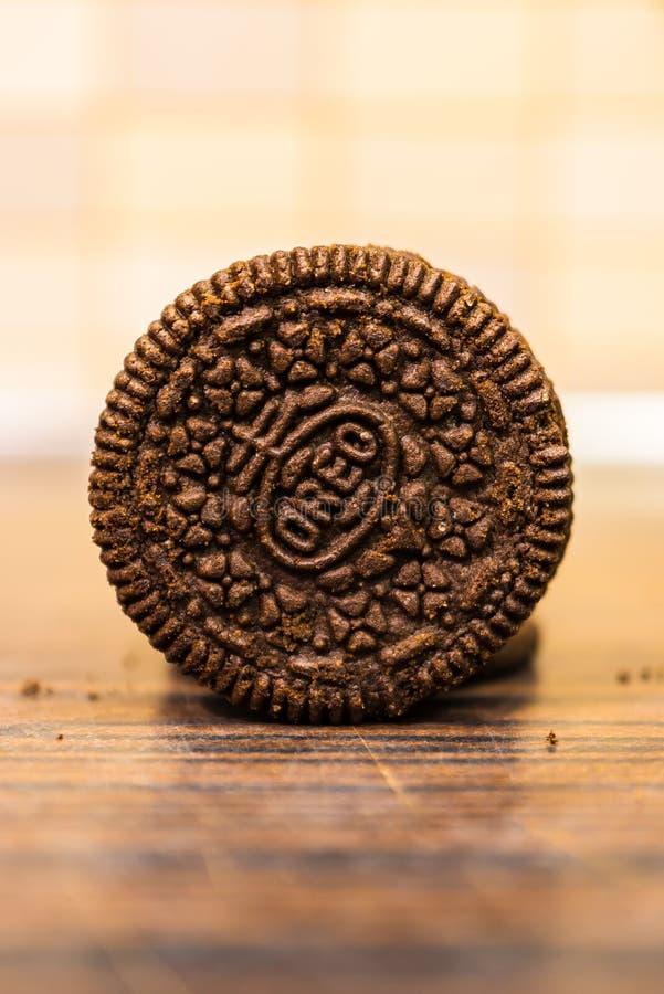 Biscotto di Oreo fotografia stock