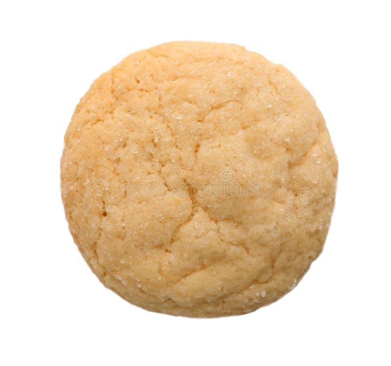 Biscotto di zucchero, isolato immagini stock libere da diritti