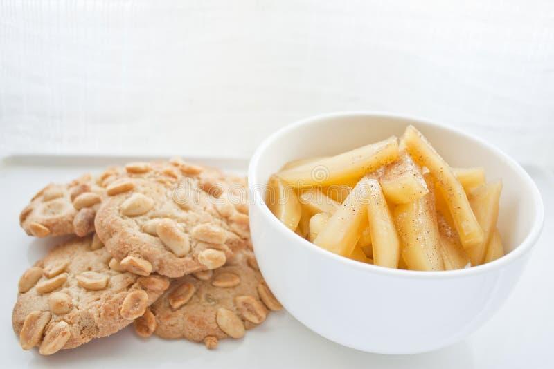 Biscotto e dessert immagini stock