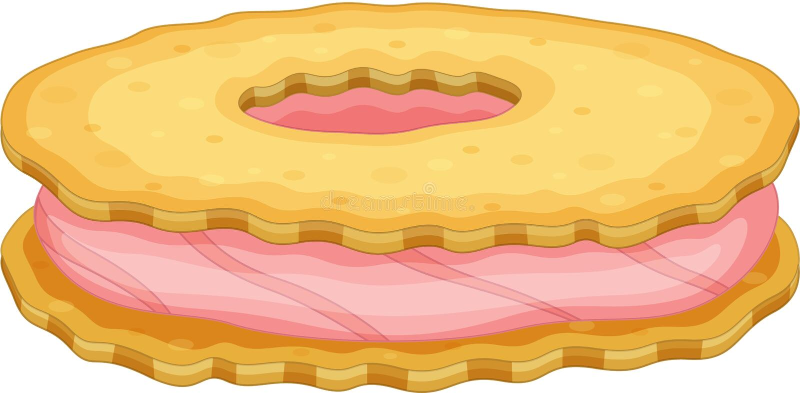 Biscuit illustration de vecteur