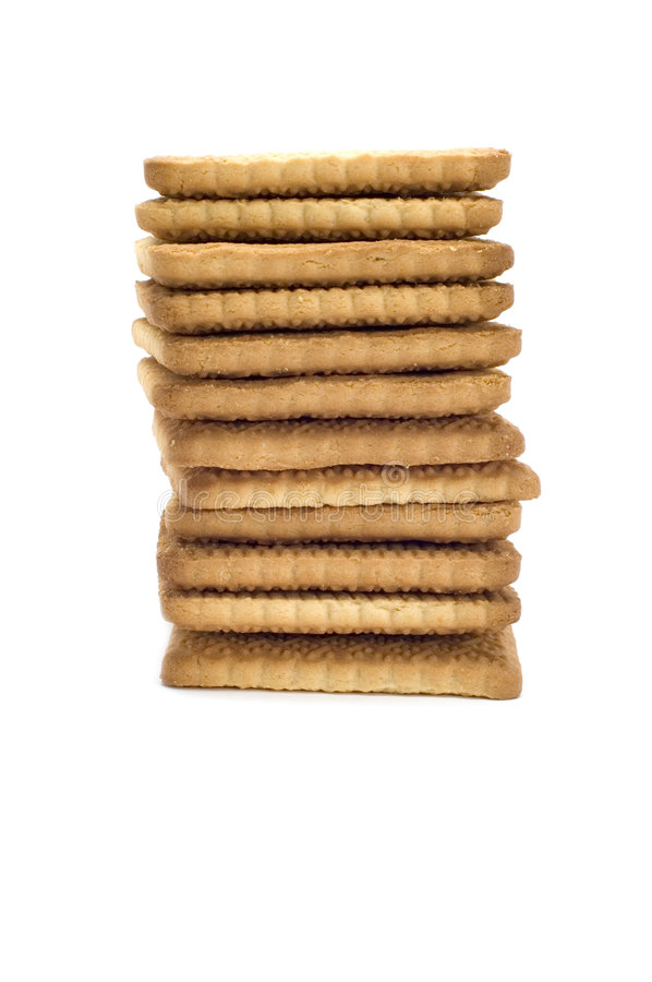 Biscuit column royalty free stock images