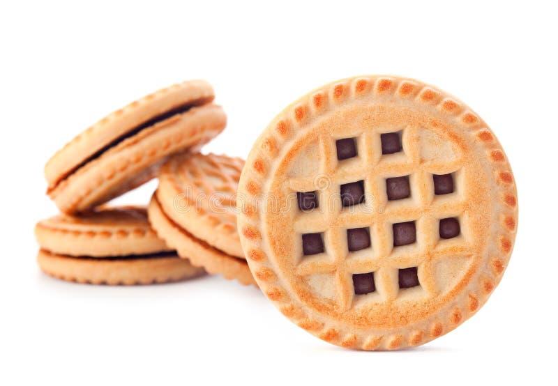 Biscuit cuit au four photo libre de droits
