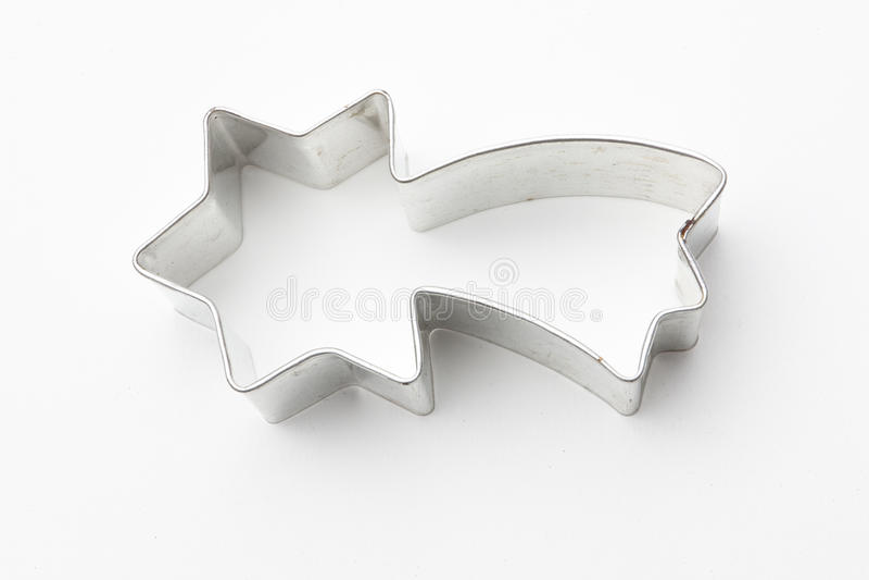 biscuit cutter falling star arkivbild
