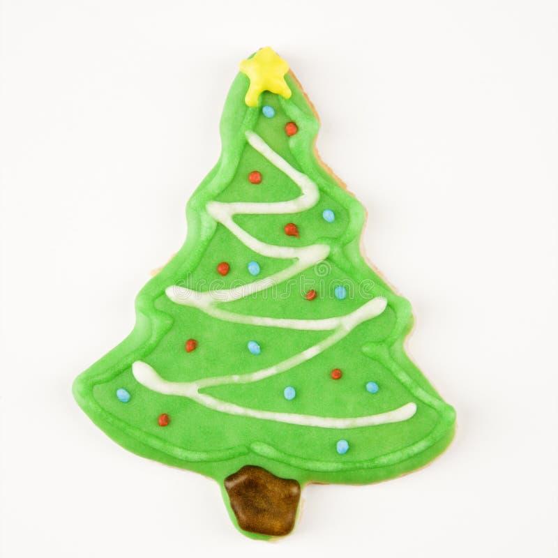 Biscuit d'arbre de Noël. photo libre de droits