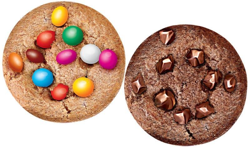 Biscuit de bonbon illustration libre de droits