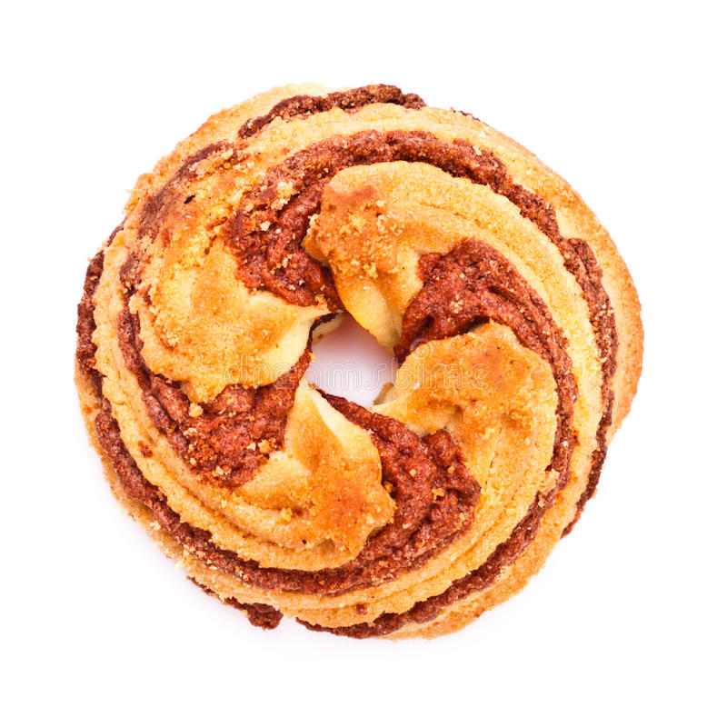 Biscuit de cannelle image stock