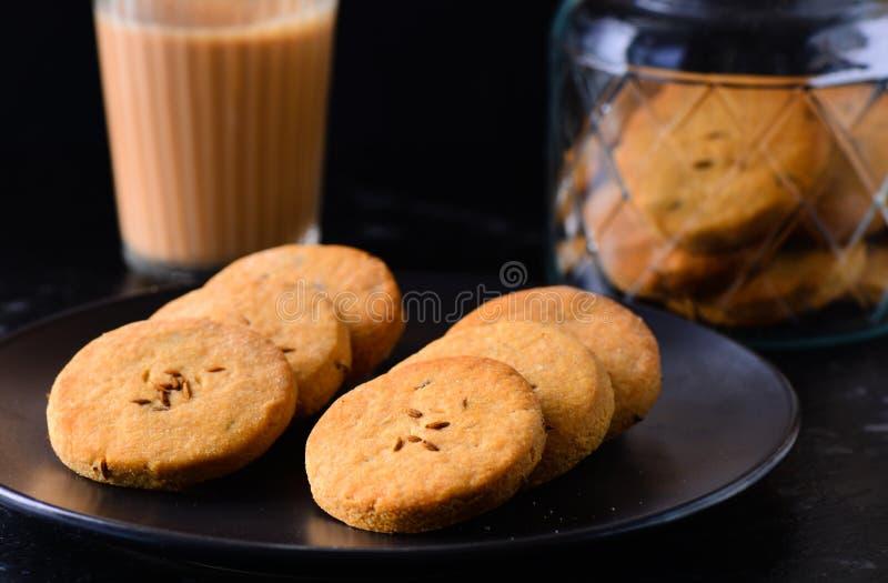 Biscuit de Chai image stock