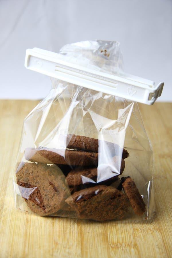 Biscuit de chocolat photo stock