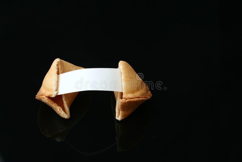 Biscuit de fortune photographie stock