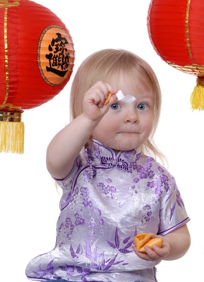 Biscuit de fortune chinois photo libre de droits