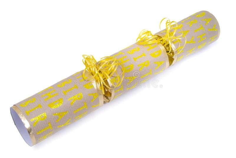 Biscuit de joyeux anniversaire images stock
