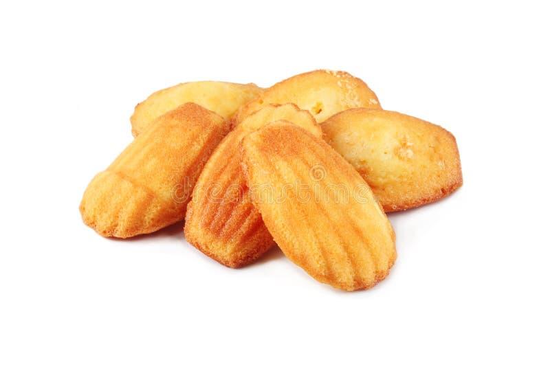 Biscuit de Madeleines photographie stock
