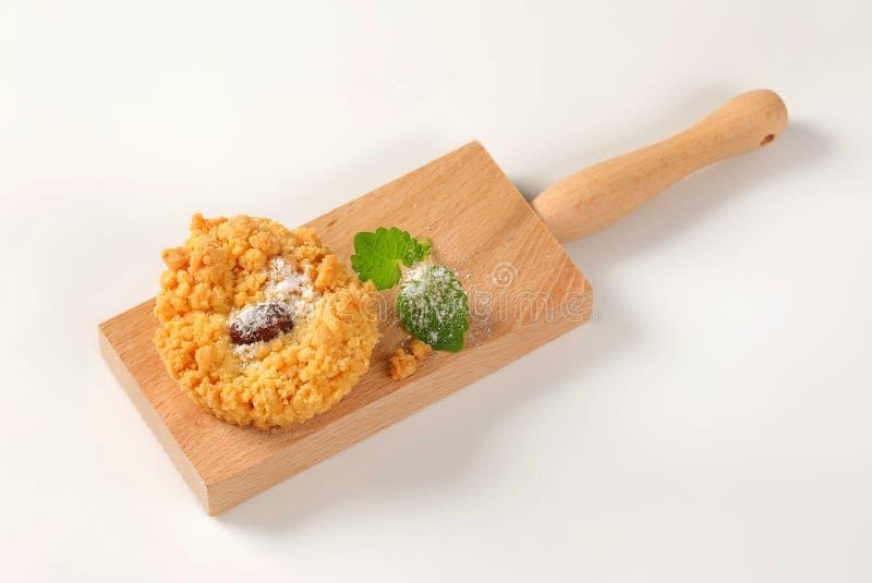 Biscuit de miette d'amande photo stock