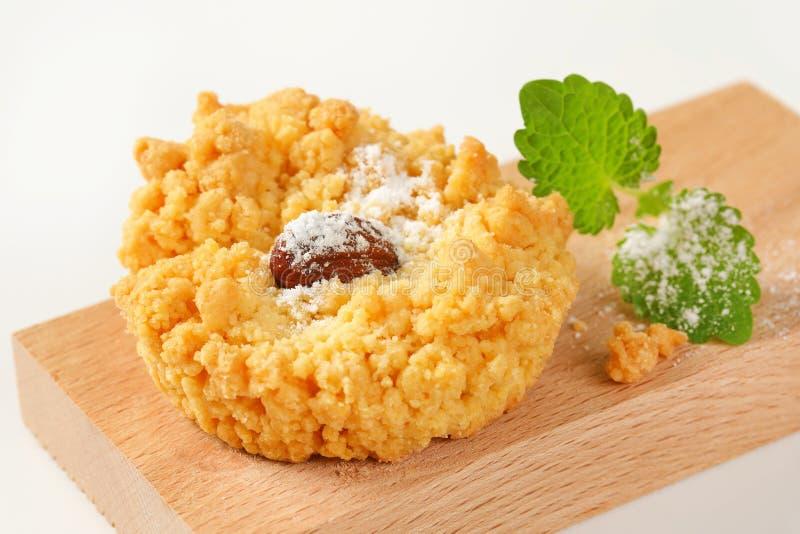 Biscuit de miette d'amande photo libre de droits