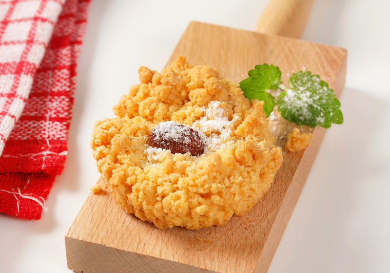 Biscuit de miette d'amande photos libres de droits