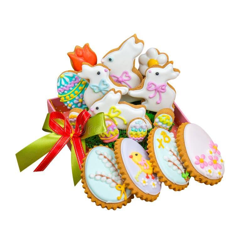 Biscuit de Pâques photographie stock