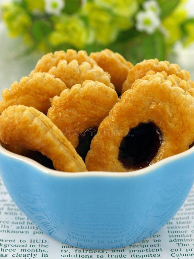 Biscuit de pâte feuilletée photo stock