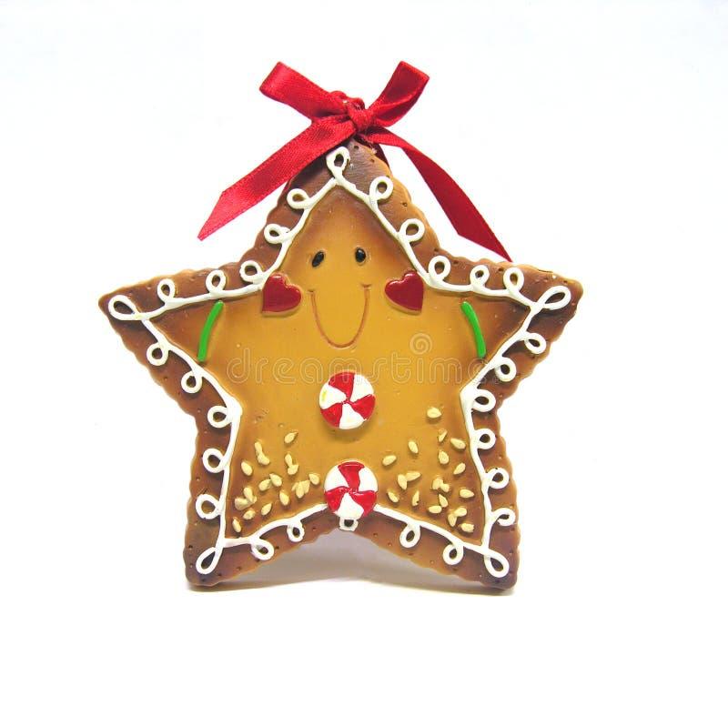 Biscuit de pain d'épice image libre de droits