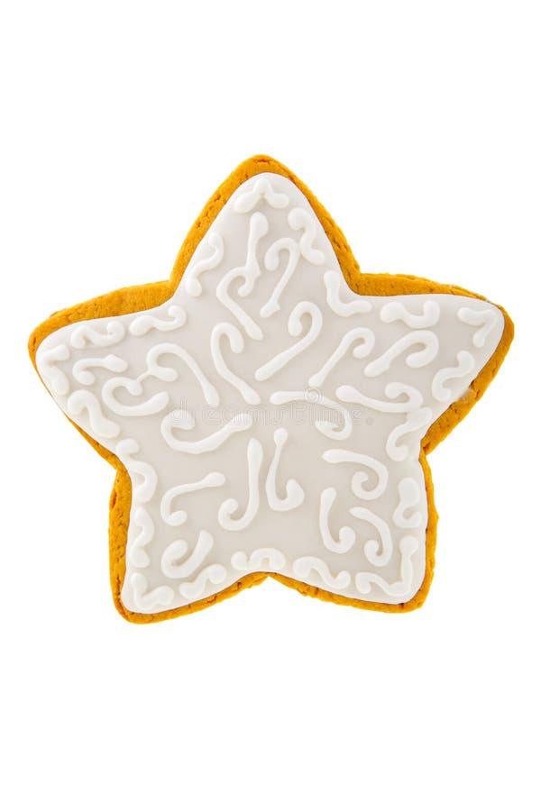 Biscuit de pain d'épice de Noël photographie stock libre de droits
