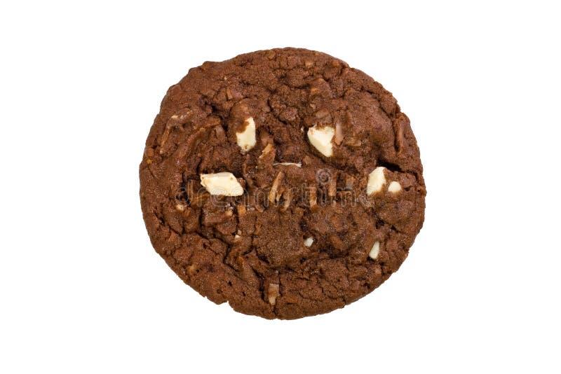 Biscuit de puce de chocolat photo libre de droits