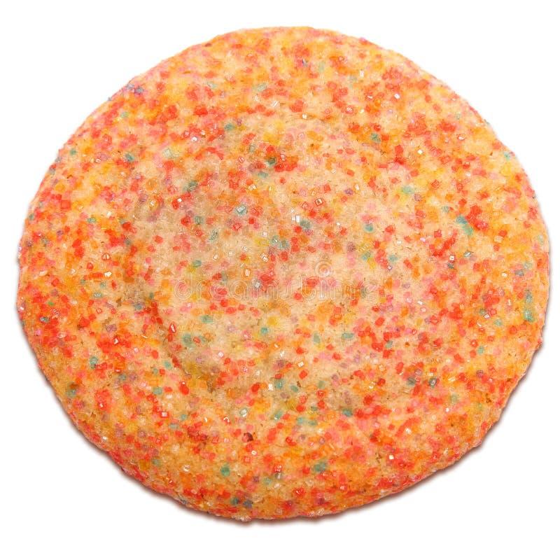Biscuit de sucre en cristal photographie stock libre de droits