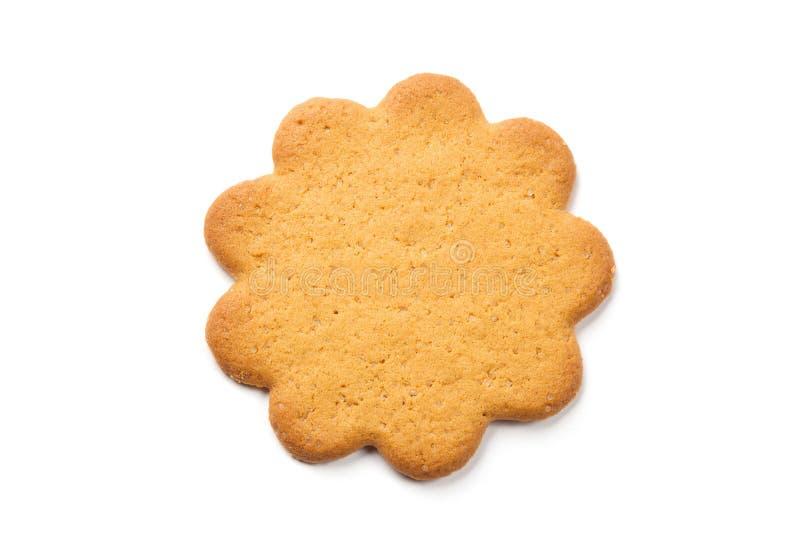 Biscuit de sucre formé par fleur photographie stock libre de droits