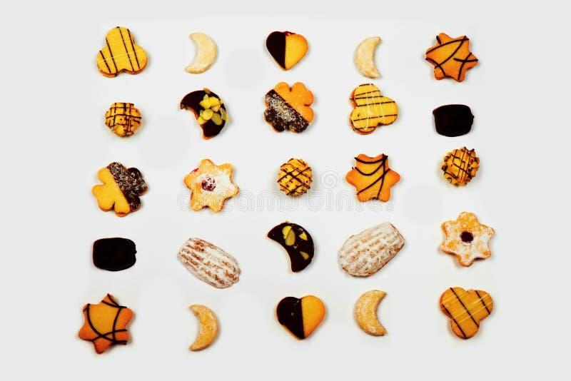 Biscuit mélangé de Noël images libres de droits