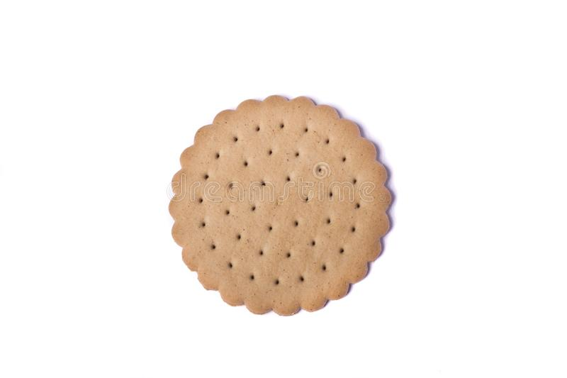 Biscuit rond image stock