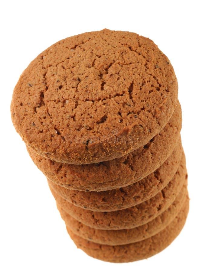 Biscuit rond d'avoine photo libre de droits