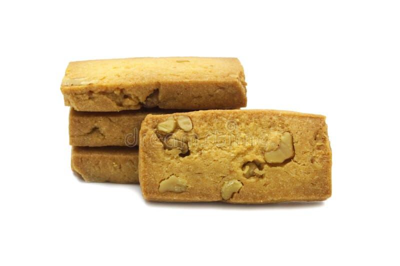 Biscuit simple de biscuits fait maison, place et conception épaisse images libres de droits