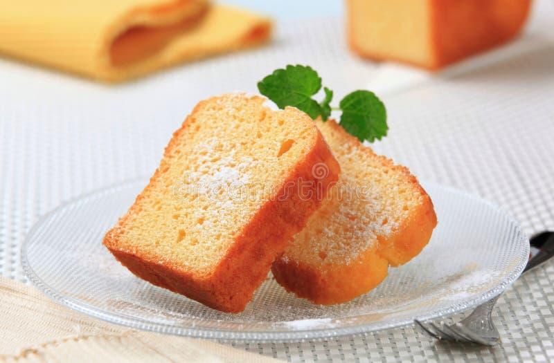 Biscuitgebak stock afbeelding