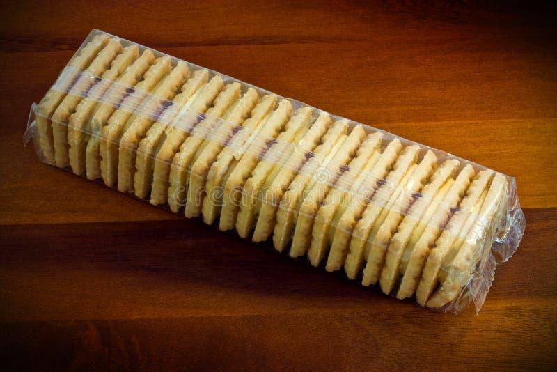 Download Custard creams stock photo. Image of treat, cookies, calories - 25953626