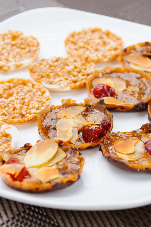 Biscuits image stock