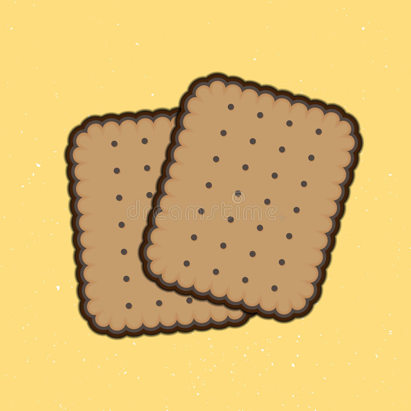 Biscuits royalty free illustration