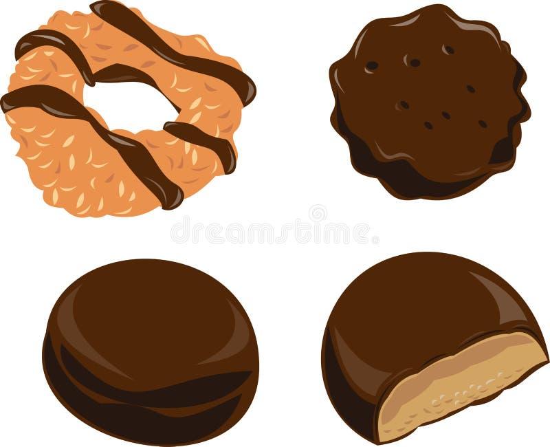 Biscuits illustration libre de droits