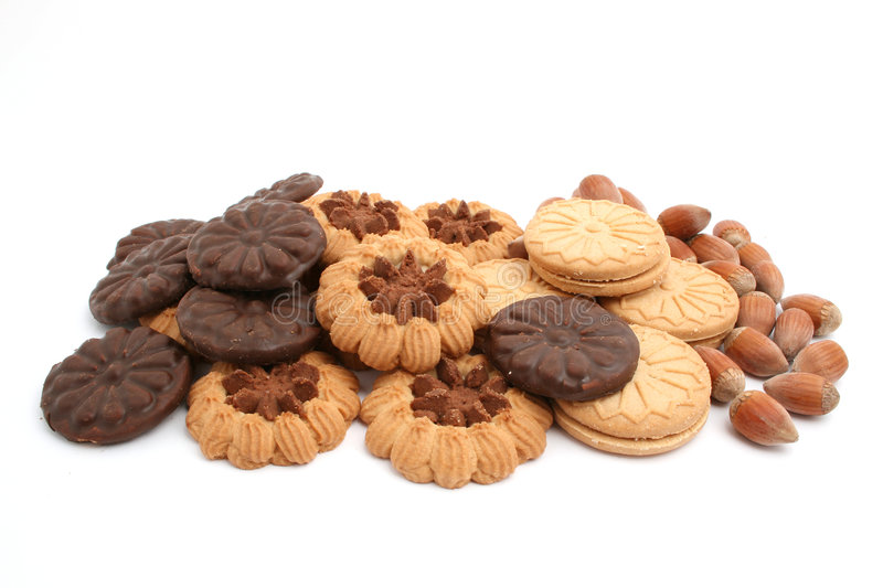 Biscuits royalty free stock photo