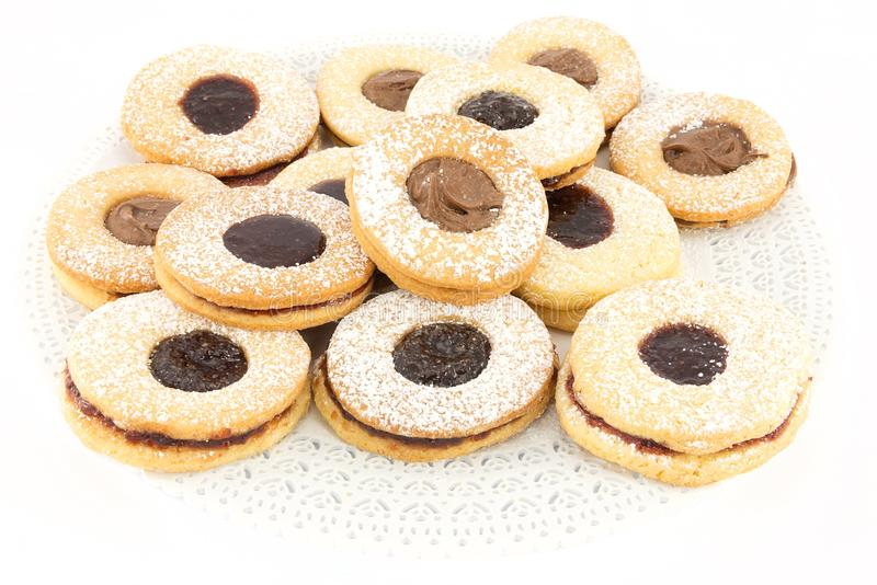 Biscuits assortis images libres de droits