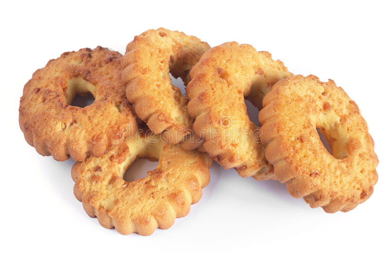 Download Biscuits avec des noix image stock. Image du sablé, biscuit - 77155983