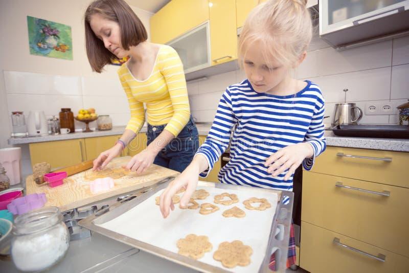 Biscuits classiques de Linzer photo stock