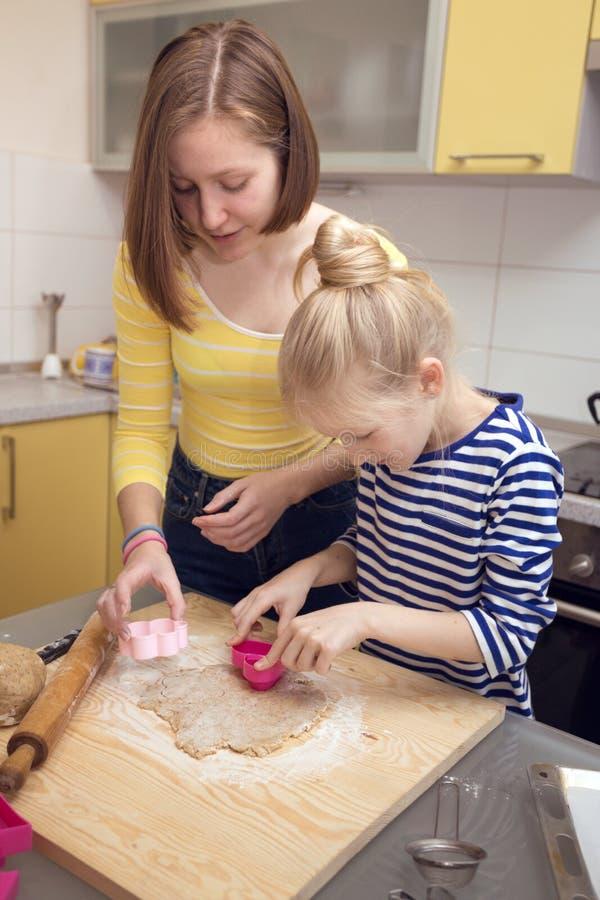 Biscuits classiques de Linzer photos libres de droits