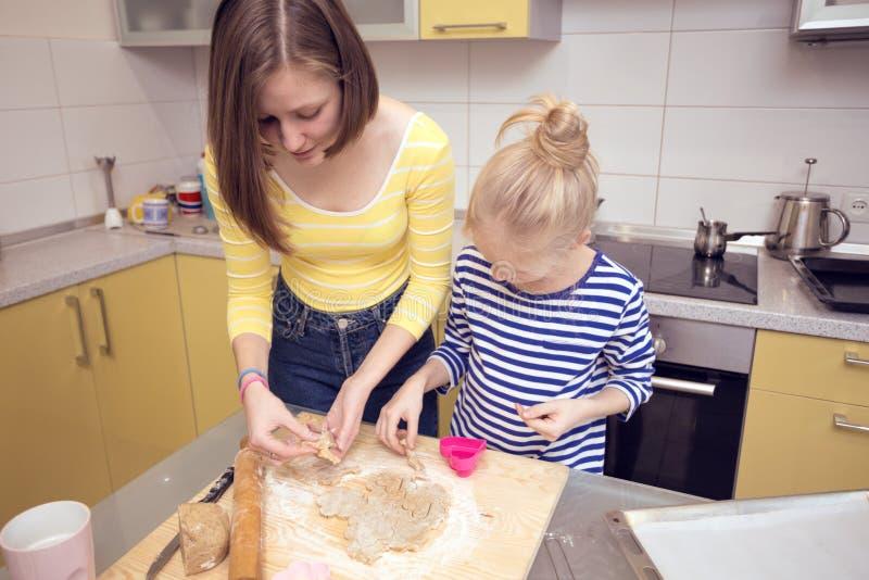 Biscuits classiques de Linzer image libre de droits