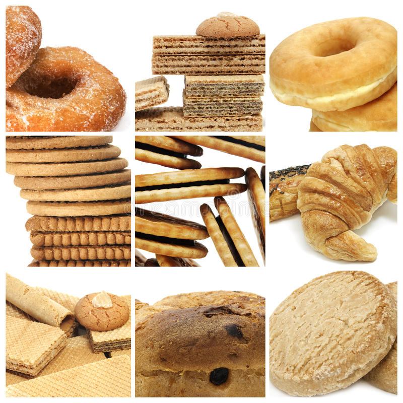 Free Biscuits Collage Stock Photo - 14282950