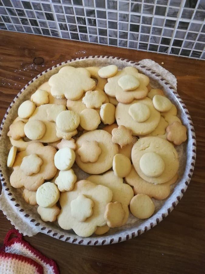 Biscuits comme bon photographie stock libre de droits