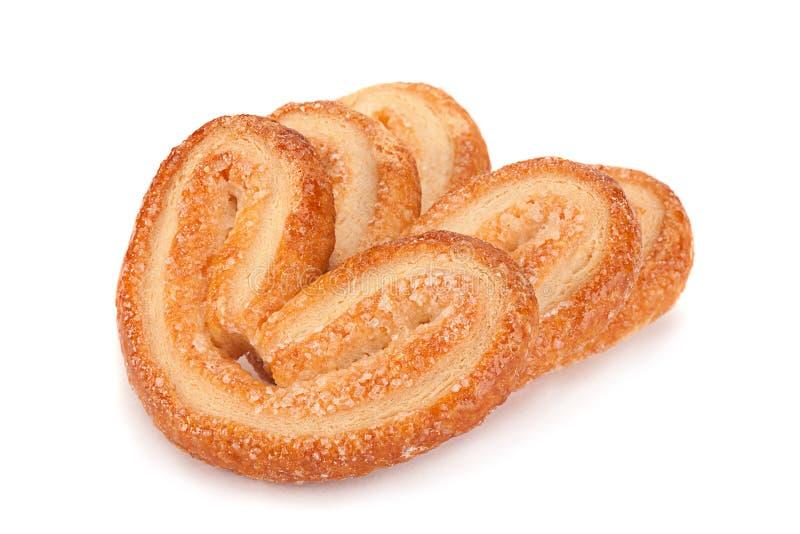 Biscuits cuits au four avec du sucre photos libres de droits