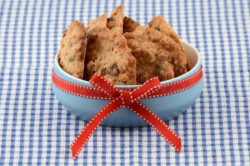 Biscuits Cuits Au Four Frais Photographie stock