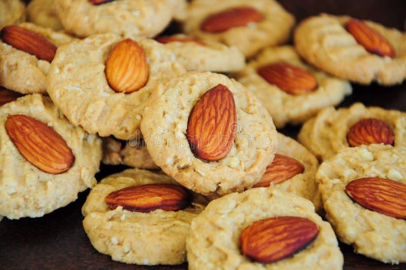 Biscuits d'amande image libre de droits