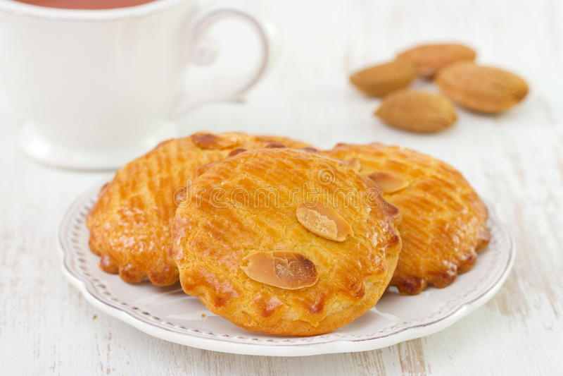 Biscuits d'amandes photos libres de droits