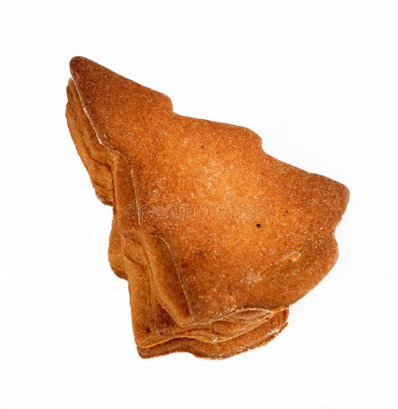 Biscuits d'arbre de Noël photographie stock libre de droits