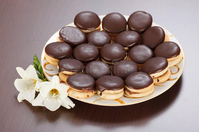 Biscuits d'Ischler photo libre de droits